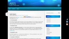 Abis Blogger Template