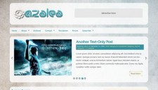 Azalea Blogger Template
