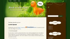 Back to the Past Blogger Template