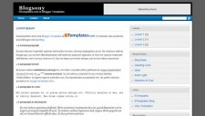 Blogsony Blogger Template