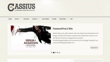 Cassius Blogger Template