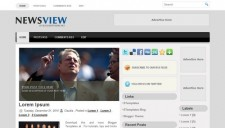 News View Blogger Template