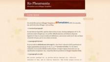 Ro Phearsanta
