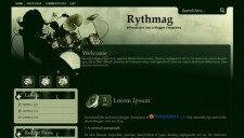 Rythmag Blogger Template
