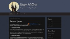 Sleepy Hollow Blogger Template