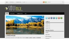 Solimex Blogger Template