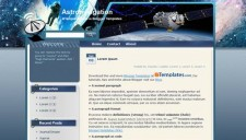 Astronavigation Blogger Template