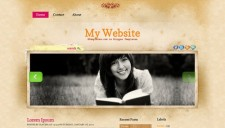 My Website Blogger Template