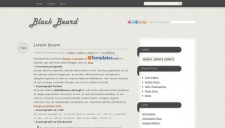 BlackBeard Blogger Template