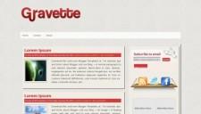 Gravette Blogger Template