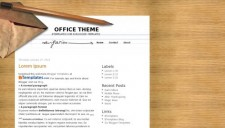 Office Theme Blogger Template