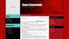 Game Community Blogger Template