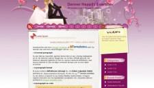 Denver Happily Everafter Blogger Template