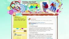 Holiday for Cash Blogger Template