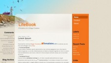 LifeBook Blogger Template