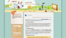 Love Pet Blogger Template