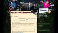 Musik Blogger Template