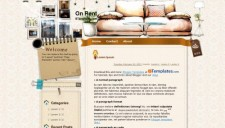 On Rent Blogger Template