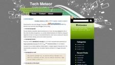 Tech Meteor Blogger Template