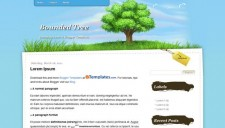 Bounded Tree Blogger Template