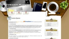 Towards Morning Blogger Template