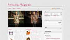 Feminina Blogger Template