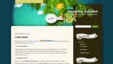 Hanging Garden Blogger Template