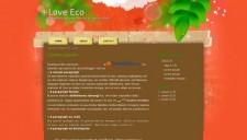 Love Eco Blogger Template