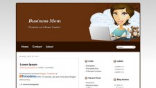 Business Mom Blogger Template