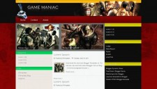 Game Maniac Blogger Template