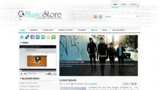 MusicStore Blogger Template