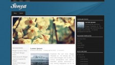 Sonya Blogger Template