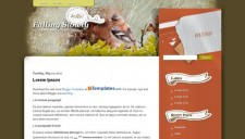 Falling Slowly Blogger Template