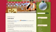 HipHop Life Blogger Template