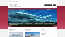 Noise Light Blogger Template