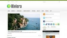 Riviera Blogger Template