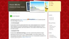 Tower Blocks Blogger Template