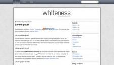 Whiteness Blogger Template