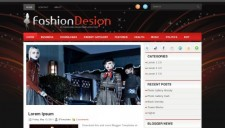 FashionDesign Blogger Template