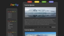Darky Blogger Template