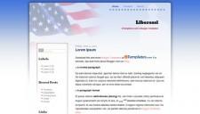 Liberossi Blogger Template