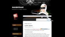 Masquerade Blogger Template