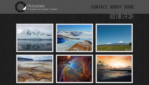 Picfotoplate blogger template btemplates for Photo gallery html template free download