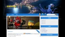 Rio Movie Blogger Template