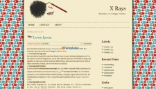 X Rays Blogger Template