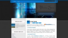 Blue Sky Blogger Template