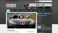 CarsMania Blogger Template