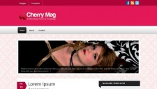 Cherry Mag Blogger Template