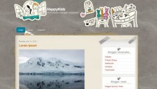 HappyKids Blogger Template