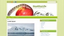 HealthyLife Blogger Template